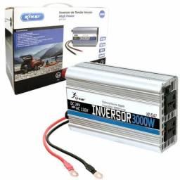 Inversor Tensão 24v 110v 3000w Transformador Conversor (NOVO)Zap 71 991775761