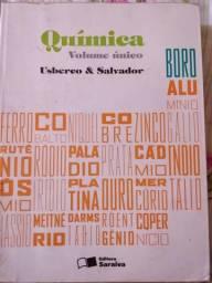 Livro de quimica, literatura, historia, geografia