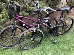 Vendo 2 bicicletas Caloi semi novas