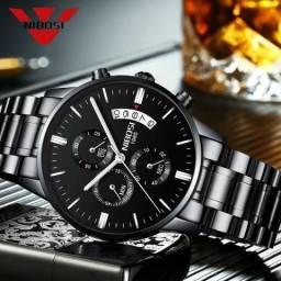 Relógio Nibosi Esportivo e Elegante