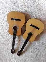 Vendo esses dois violões