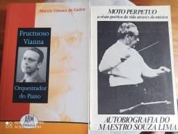 Dois livros Música/piano