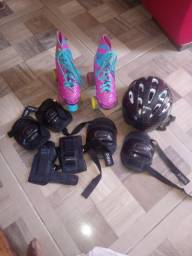Patins completo