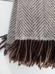 Manta ou coberta 100% lã