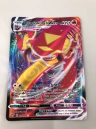 Carta Pokemon Centiskorch Vmax texturada nova