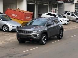 Garantia Fábrica/ Único Dono* Compass 2.0 Aut. 4x4 Diesel TrailHawk *Avalio Troca - 2017