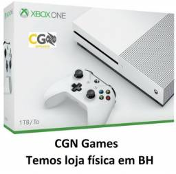 Xbox One S 1TB Novo na Caixa Lacrado com Garantia - Cartão Até 12x - Loja Física comprar usado  Belo Horizonte
