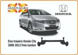 Eixo traseiro Honda City freio tambor