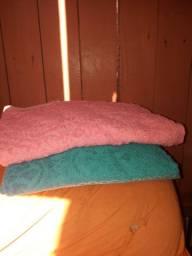 Vendo 2 toalhas novinha 80