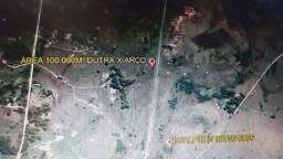G 1565 ,Área de 100.000m² com RGI, a 100m Dutra e do Arco Metropolitano