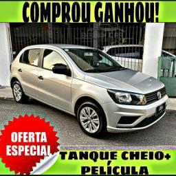 TANQUE CHEIO SO NA EMPORIUM CAR!!! GOL 1.6 MSI ANO 2019 COM MIL DE ENTRADA