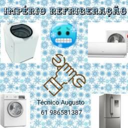 Conserto máquina de lavar e geladeira