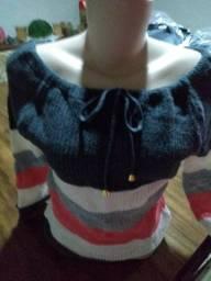 Blusa de tricô... por apenas R$ 30,00