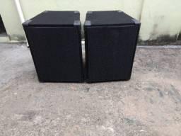 Caixas de Som passiva alto falante de 12 pesado e corneta de médio agudo
