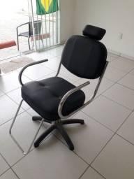 Cadeira de barbeiro, cabelereiro