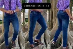 Calça jeans masculina com elastano SOMENTE TAMANHO DESCRITO NAS FOTOS