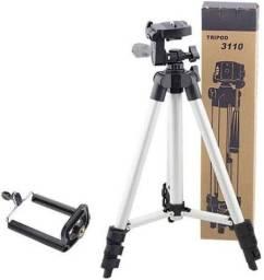 Tripé Universal Tripod Para Câmera E Celular- Facilita a sua Vida!