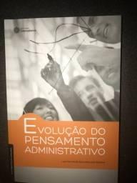 Livro evolução do pensamento administrativo