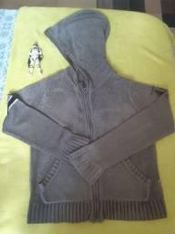 Casaco cinza usado