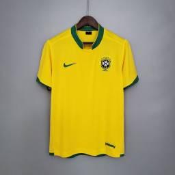 Camisa Nike Brasil Retrô 2006