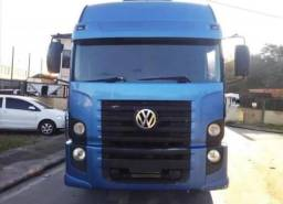 Título do anúncio: Caminhão 24-250 bitruck azul cabinado