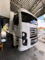 Título do anúncio: Caminhão Volkswagen 13.180 2012 Branco Bau 7 mts
