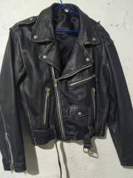 Título do anúncio: Jaqueta de couro legítimo P