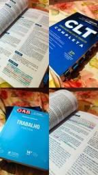 Título do anúncio: CLT completa + livro de prática