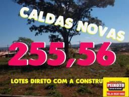 LOTE A PRESTAÇAO EM CALDAS NOVAS -GOIÁS