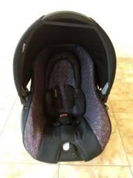 Título do anúncio: Bebê Conforto Preto Rajado - Cosco