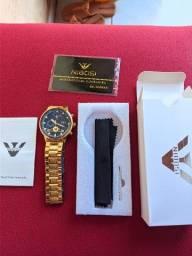 Título do anúncio: Relógio Masculino NIBOSI 100% Funcional 2305