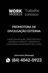 Título do anúncio: PROMOTORA DE DIVULGAÇÃO EXTERNA