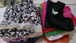 Vendo lote de roupas infantis novas  com 58 peças de 2 a 12 anos