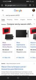 Título do anúncio: Mesa digital wacom ctl 432