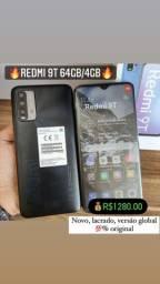 Título do anúncio: REDMI 9T 64GB/4GB LACRADO/GLOBAL