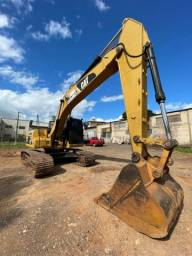 Título do anúncio: Escavadeira Hidraulica Draga Caterpillar D320L