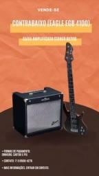 Título do anúncio: Baixo e amplificador