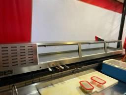 Título do anúncio: Vitrine expositora de sushi 220v