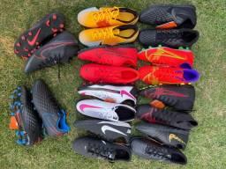 Título do anúncio: Chuteiras Originais Nike - Leon Sports (Descrição)