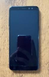 Samsung Galaxy A8 (2018)  64 GB  Preto e sem quebrados