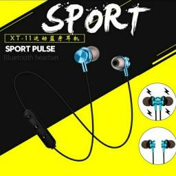 Fone De Ouvido Magnético Com Bluetooth Estéreo Esportivo
