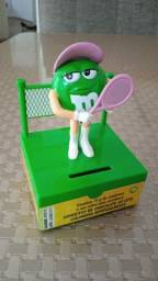 Título do anúncio: Cofre M&M's tenista (DTC) 10 cm de altura