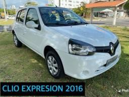 Título do anúncio: CLIO EXPRESSION 2016 ÚNICO DONO
