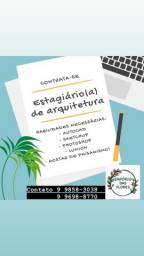 Título do anúncio: Estagiário de arquitetura  e paisagismo