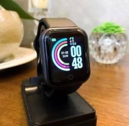 Tecnologia e Estilo Relógio Smartwatch  D20 Pro Android/ios Funções Celular