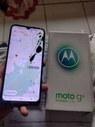 Título do anúncio: Moto G8 power lite ,64gb funcionando normal .