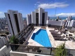Título do anúncio: JS Apartamento de 1 Quarto em Boa Viagem no Beach Class Hotel Residence