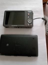 Vendo celular Nokia e câmera digital
