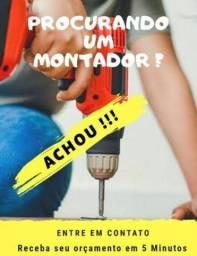 Título do anúncio: MONTADOR DE MÓVEIS em geral!