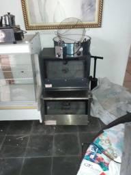 Título do anúncio: Exaustor e depurador 02 fornos baixa pressão tacho para frituta
